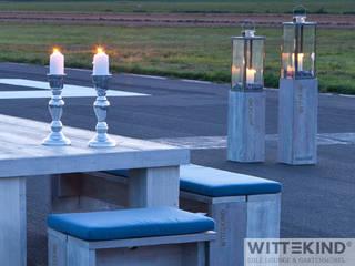 Windlichter 2er Set von Wittekind Möbel UG (haftungsbeschränkt) Rustikal