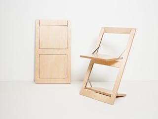 Fläpps Folding Chair AMBIVALENZ KitchenTables & chairs Plywood