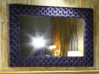 Espejos tapzados:  de estilo  de Tapineda, Artesanía del Tapizado