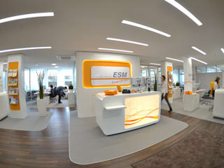 ESM Kundencenter 02:  Geschäftsräume & Stores von inside Innenarchitektur