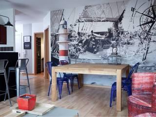 Appartement de 55 m2 totalement revisité Soraya Deffar / Un Pretexte