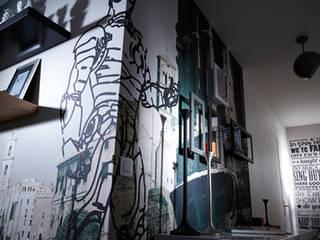 Agencement d'un appartement parisien de 100 m² Soraya Deffar / Un Pretexte