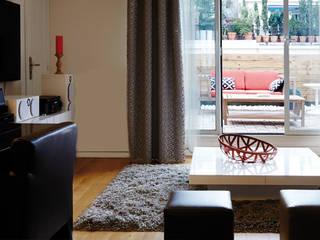 Agencement d'un appartement parisien 55 m² Soraya Deffar / Un Pretexte