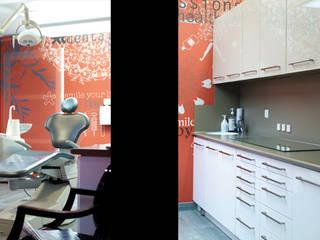 Rénovation et Agencement d'un cabinet dentaire Soraya Deffar / Un Pretexte Cliniques modernes
