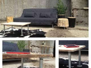 Table salon PIPE:  de style  par Pür cachet