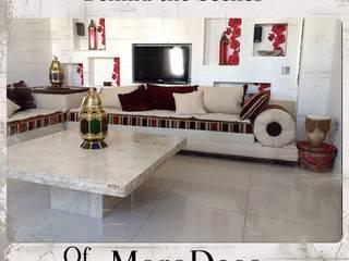 Moroccan Bolster sofa: mediterranean  by MoroDeco.Ltd, Mediterranean