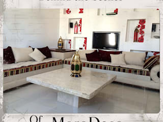 Moroccan Bolster sofa:   by MoroDeco.Ltd
