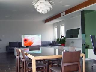Casa del Capitano: Soggiorno in stile in stile Moderno di Stefano Costantino Architetto