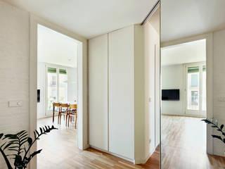 REFORMA INTEGRAL E INTERIORISMO DE PISO EN CHAFLÁN DEL EIXAMPLE DE BARCELONA M2ARQUITECTURA Casas de estilo moderno