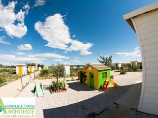 Jardins  por Architecte Egrefeuille Carole