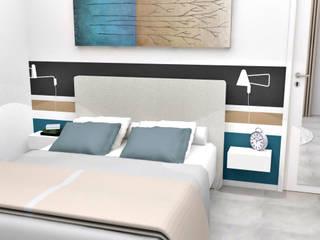 Conception de chambres Chambre moderne par HanaK Décoration Moderne