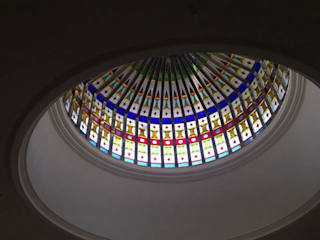 Stained Glass Domes: asian  by Glasstec, Asian