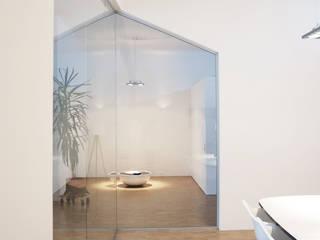 UMBAU DIGITAL-BUSINESS-AGENTUR  DÜSSELDORF:  Geschäftsräume & Stores von MEA Studio - Architektur I Innenarchitektur I Retail Design