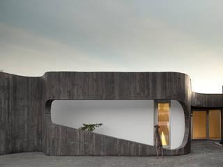 XIEIRA HOUSE II od A2+ ARQUITECTOS Nowoczesny Beton