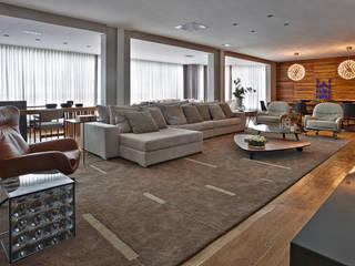 LA Apartment David Guerra Arquitetura e Interiores Casas de estilo moderno