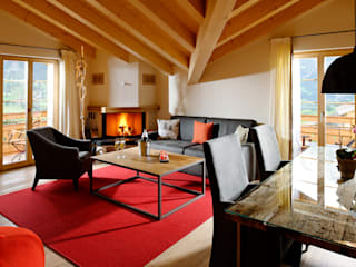 Reportage photos Alpin Lifestyle Hotel Aspen: Salon de style  par Philippe Hahn Photography