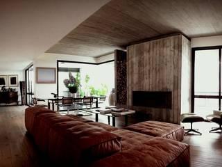 Casa S Soggiorno minimalista di MM A   Massimiliano Masellis Architetti Minimalista