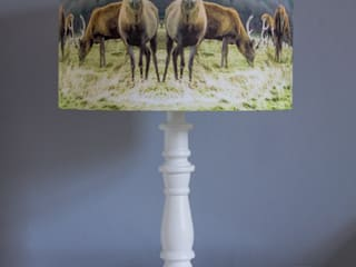 Stag Lampshade:   by Lomas & Lomas