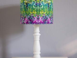 Painting Lampshade:   by Lomas & Lomas
