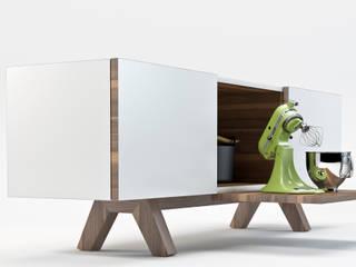 Studio Cappellanti Living roomStorage