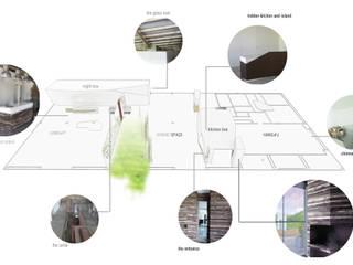 HANG#J : Case in stile in stile Industriale di Margarete (Architetti Anselmi S. e Crucianelli E.)