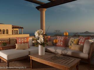 Modern Terrace by DIAZ DE LUNA SIGNATURE Modern