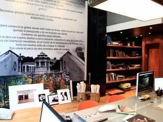 El Estudio.: Estudios y despachos de estilo  de Interiorismo & Construcción.