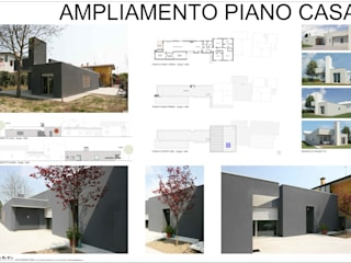 AMPLIAMENTO PIANO CASA Case di Studio di Progettazione e Grafica Giorgio Da Villa