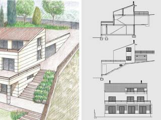 jjdelgado arquitectura Rumah Modern