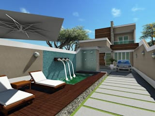 Casa Itaipú por VS Arquitetura Moderno