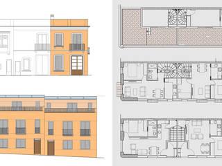 jjdelgado arquitectura Classic style houses