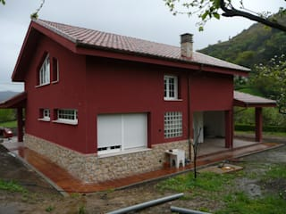 VIVIENDA TELLEGO de Agora Arquitectos