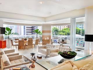 Salas de estar modernas por Adriana Scartaris design e interiores