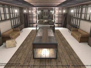 Masi Interior Design di Masiero Matteo Espaces commerciaux scandinaves