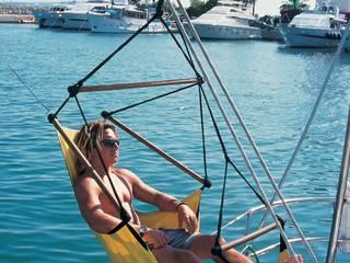 Eine Idee, die auf den Weltmeeren unterwegs ist - wie CrazyChair die Hängematte neu definierte. Moderne Yachten & Jets von CrazyChair Hängematten Modern