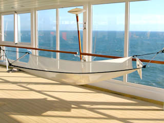 Kreuzfahrtschiff mit Crazy Chair Hängematte:   von Pimiento OHG - Crazy Chair