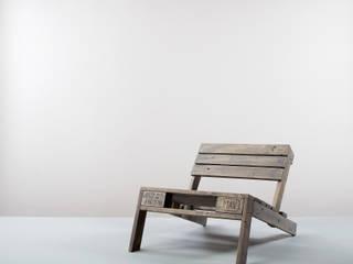 kimidori 1st Lounge Chair. Farbe Graublau.: industriell  von homify,Industrial
