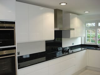 Handleless Kitchen Rugby par The Leicester Kitchen Co Moderne