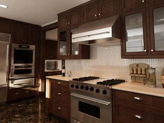 Industrial style kitchen by Studio di Programmazione e Rendering Ponzanelli Industrial