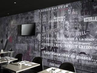 Conception et agencement du restaurant Frit'House Soraya Deffar / Un Pretexte Gastronomie moderne