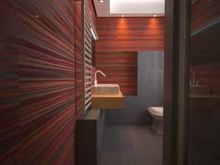 bagno: Bagno in stile  di alfredo anfossi architetto