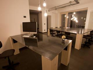 BEARprogetti - Architetto Enrico Bellotti Minimalistische Arbeitszimmer