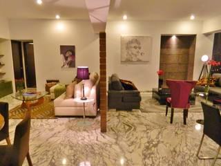 NIVEL TRES ARQUITECTURA Modern living room