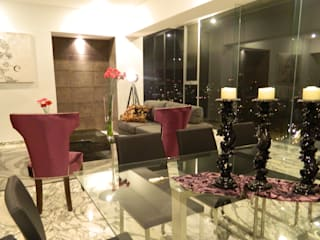 NIVEL TRES ARQUITECTURA Modern dining room
