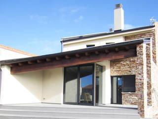 VIVIENDA PALOMO Casas de estilo moderno de BM2C Arquitectos Moderno