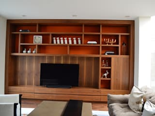 moderne Wohnzimmer von Revah Arqs