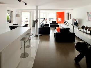 appartement B by atelier d'architecture Yvann Pluskwa Minimalist