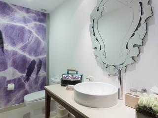 Casas de estilo ecléctico de Marusa Albarrán interior Design Ecléctico