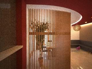 soggiorno: Soggiorno in stile  di alfredo anfossi architetto
