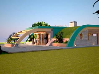 casa verde:  in stile  di alfredo anfossi architetto